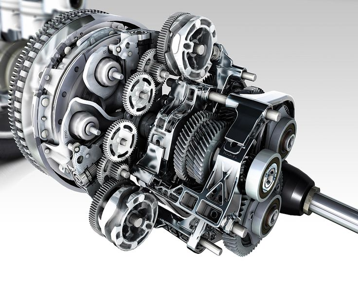 Renault Six-Speed EDC Dual Clutch Transmission