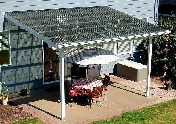 Suntuf Patio Cover, Corvallis at TnTBuildersInc.com