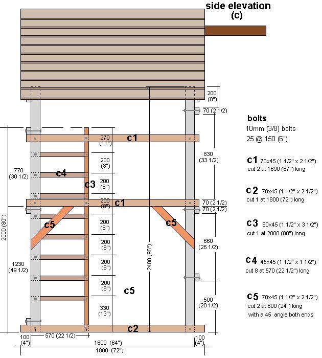 Wood Elevation Network : Best deck fence ideas images on pinterest
