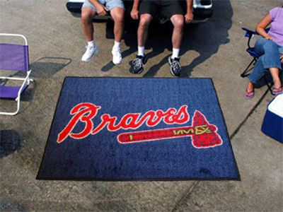 Start showing off your team pride with a Tailgater Mat from Sports Licensing Solutions. Made in the U.S.A. with 100% nylon carpet in true colors and non-skid recycled vinyl backing. Serged borders add