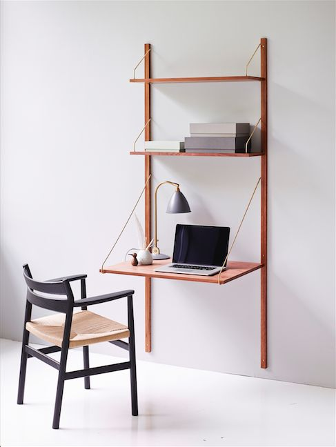 Royal System: writers desk, library and bookcase in one - The Interiors Addict
