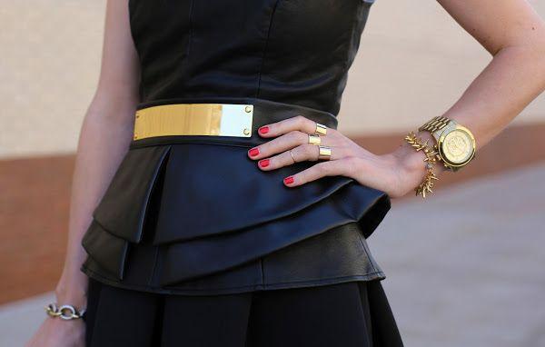back in black & gold