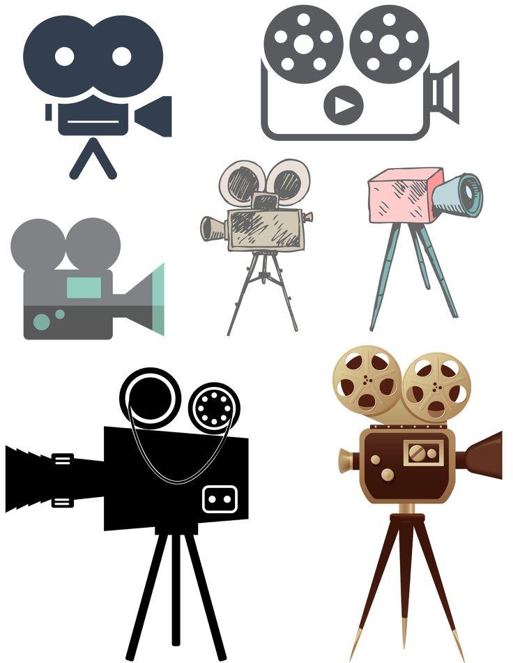Resultat d'imatges de camara de cine antigua animada