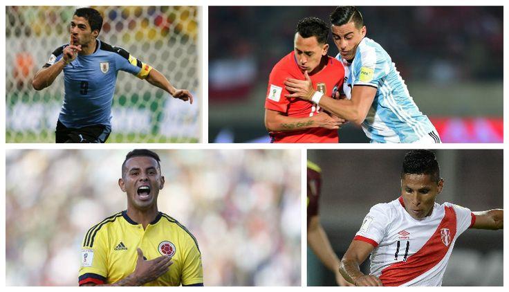 Eliminatorias: el once ideal de la quinta jornada en Sudamérica. March 26, 2016.