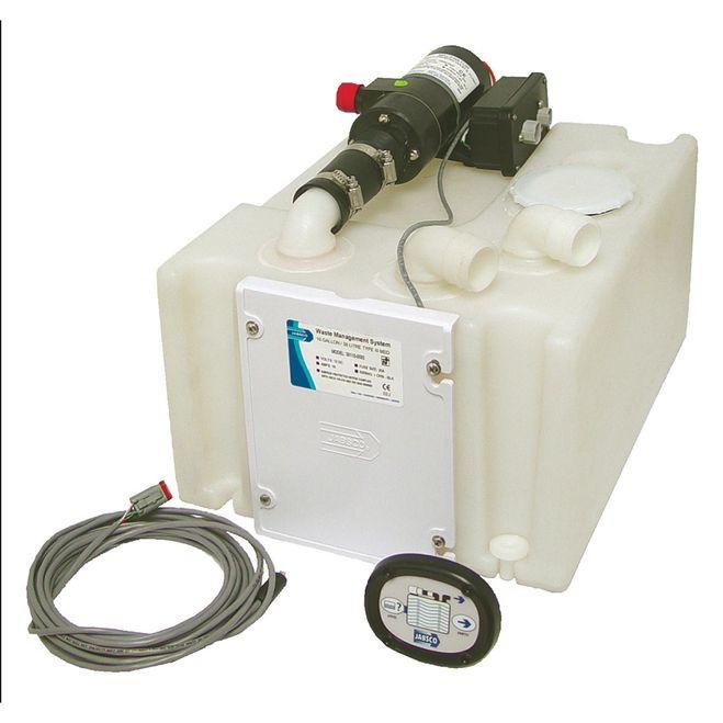 Jabsco Waste Management System w/Holding Tank & 12V Pump [38110-0092]