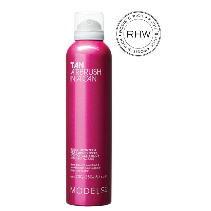 ModelCo TAN AIRBRUSH IN A CAN - The best tanning product I have tried - doesn't smell bad and looks completely even and natural #ModelCoLovesAus