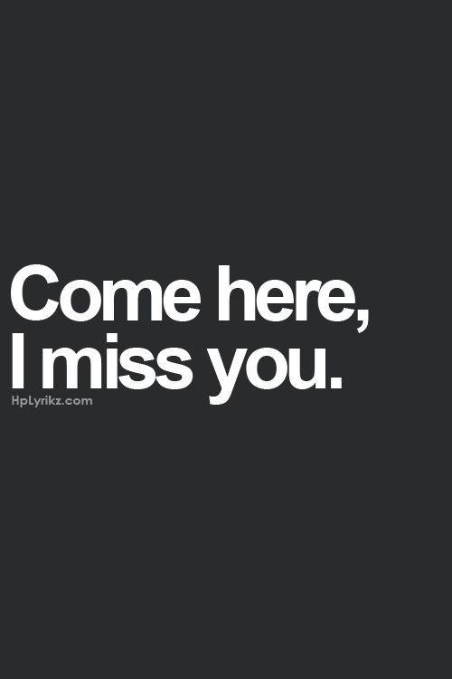 Come Here… via pinterest