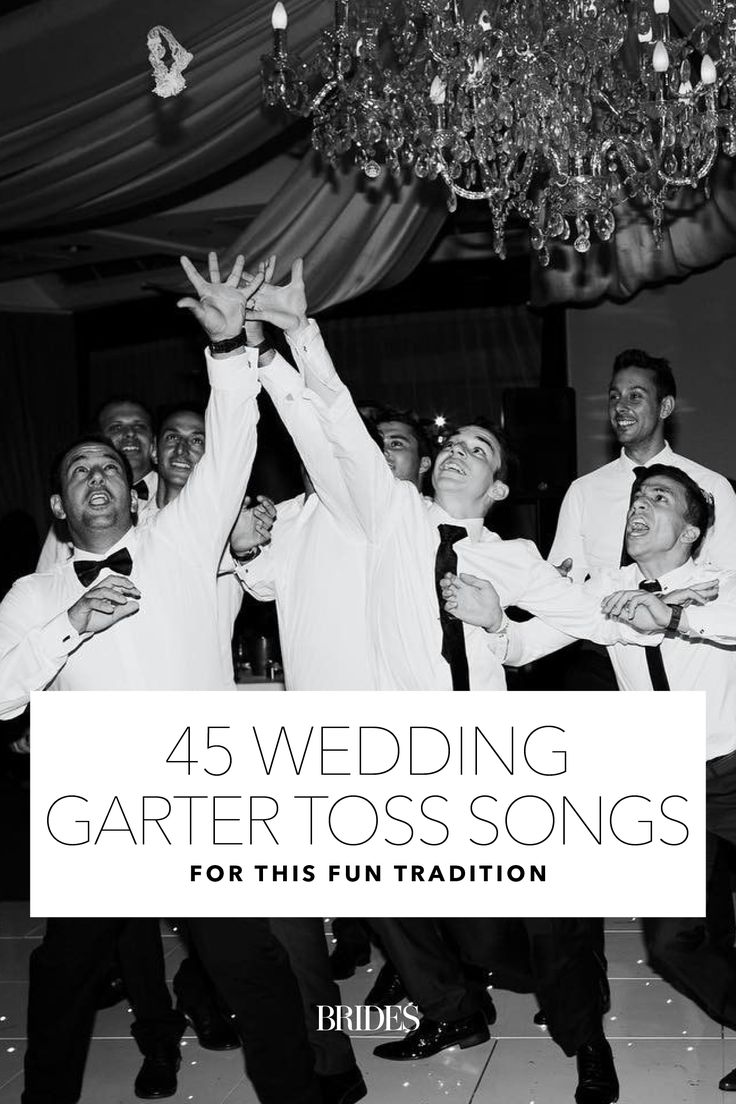 45 Wedding Garter Toss Songs