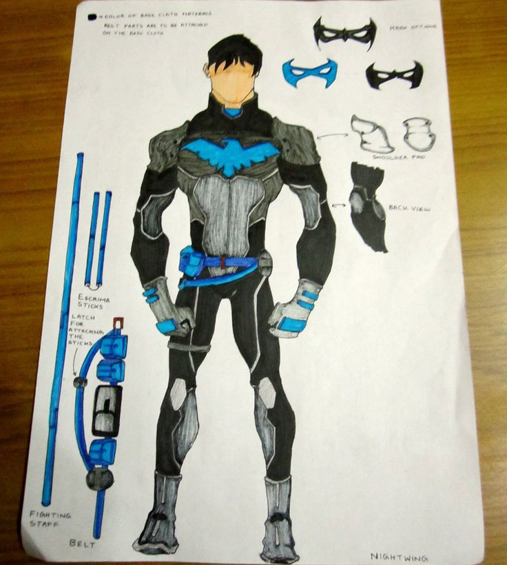 "When Robin was dismissed from his role of a Batman sidekick, Nightwing was ""born"". The most memorable is the Dick Grayson Nightwing costume, the one you will have the chance to wear on Halloween! Y..."