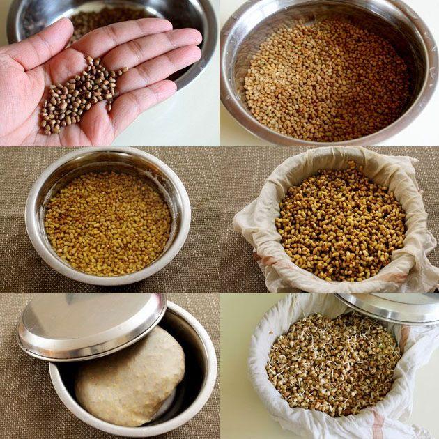 Matki Usal curry.  This website has great vegetarian recipes