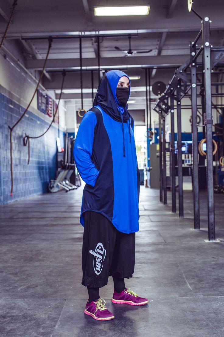 Modest Sports Fitness Fashion Hijab Athlete Islamic Clothing Brand  Jysm Fitness Modest Workout Sportswear Photo Credit: Jeremy Bales