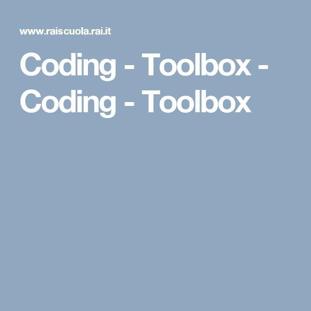 Coding - su Rai Scuola