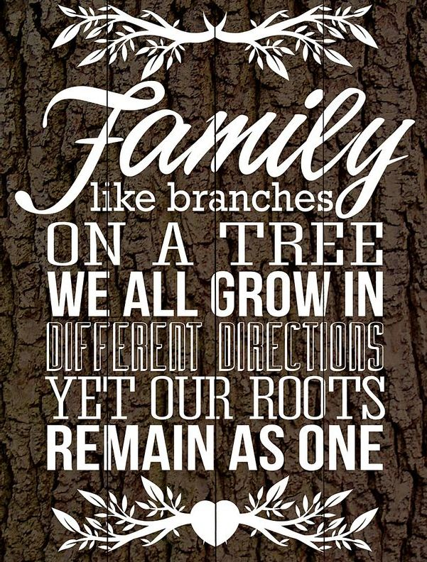 On elf the loveliest quotes about family that I have seen. Brown Family Roots Wood Wall Art