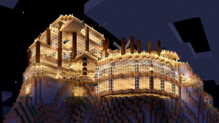 Underway Minecraft Build by MinecraftPhotography