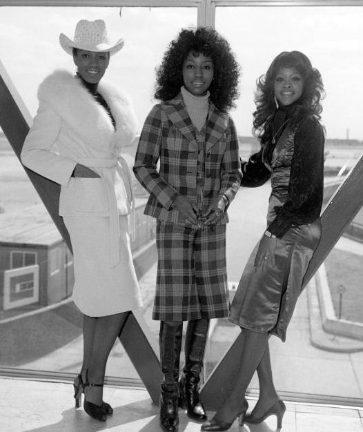 """The Three Degrees. Active from the Sixties it was the 70's that really gave Helen Scott, Valerie Holiday & Freddie Pool the break out they needed with the launch of the Philly Soul Sound & their anthem 'TSOP (The Sound of Philadelphia)' which went on to become the theme song for TV's 'Soul Train'. With further Top Ten international hits in 1974 """"Dirty Ol' Man' & 'When Will I See You Again' making them the first girl group since The Supremes to have a #1 track at the top for two weeks!!!"""