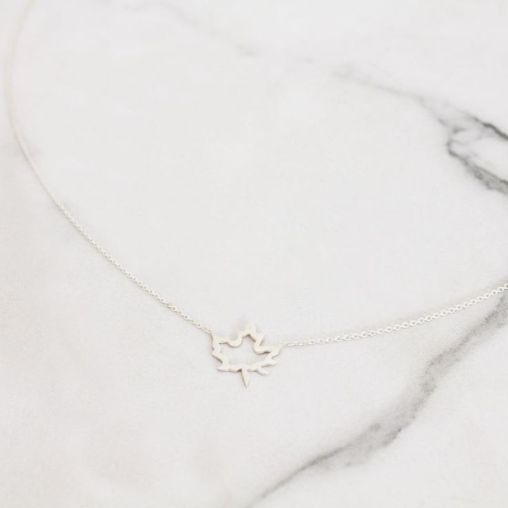 Maple Leaf Necklace🍁⠀