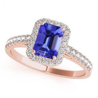 rose gold tanzanite rings toptanzanite.com