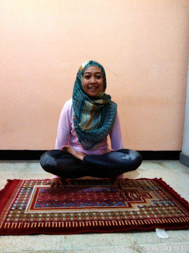 Raised Lotus Pose  #Namaste #ArmStrength #ArmBalance #YogaPractice