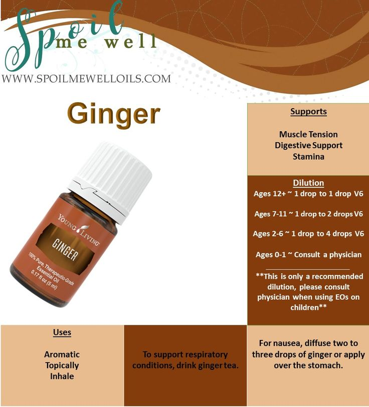 25 Best Ideas About Ginger Essential Oil On Pinterest