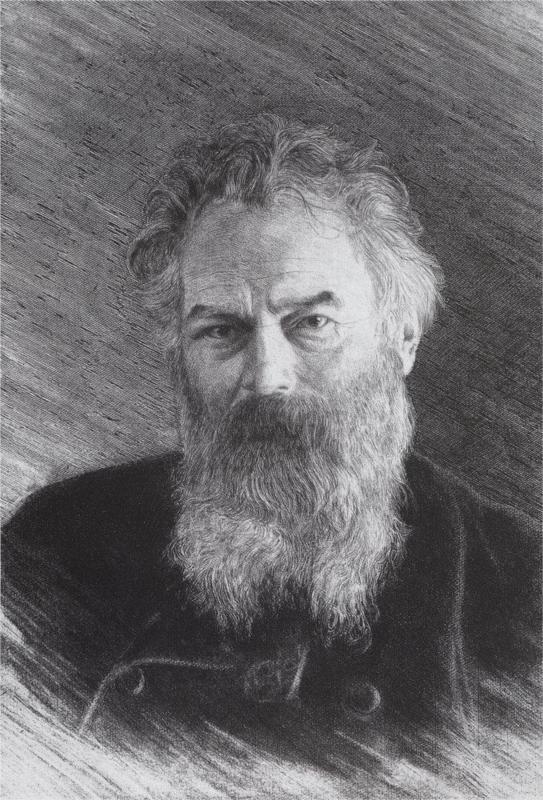 Self-portrait, 1886  Ivan Shishkin