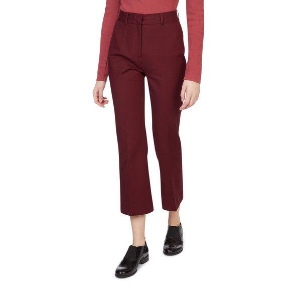 Monoprix - Pantalon bootcut raccourci - MONOPRIX FEMME