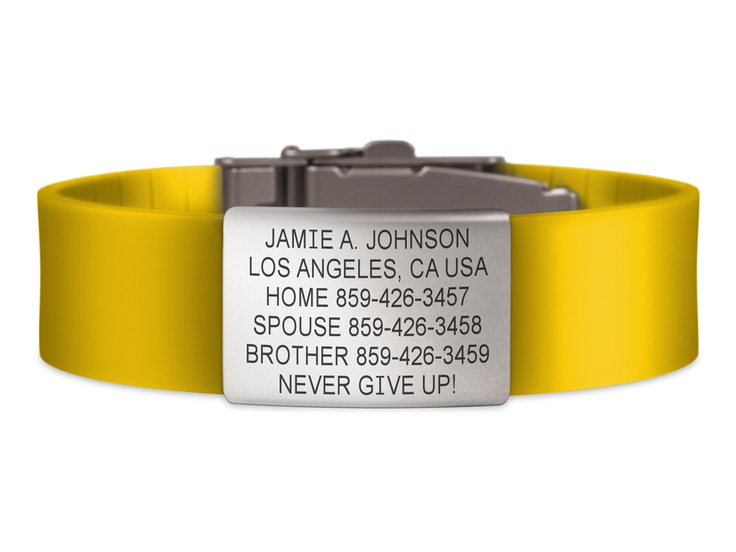 Wrist ID Elite - Yellow