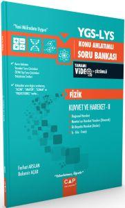 ÇAP YGS LYS Fizik Kuvvet ve Hareket 2 Konu Anlatımlı Soru Bankası Tamamı Video Çözümlü