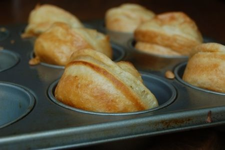 Little Vegan Yorkshire Puddings | Vegetarian Recipe Club | The biggest collection of tried and tested Vegan and Vegetarian recipes on the in...