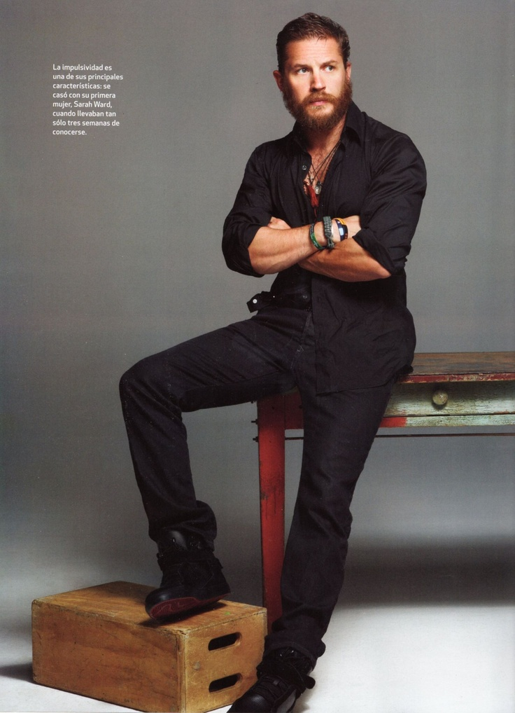 Tom Hardy...makes a good case for the beard