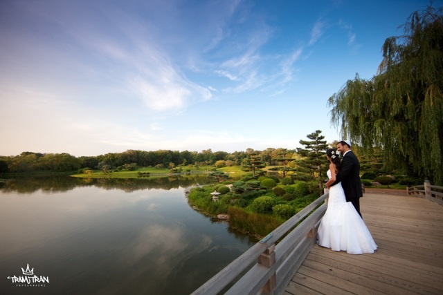 Wedding at the Chicago Botanic Garden