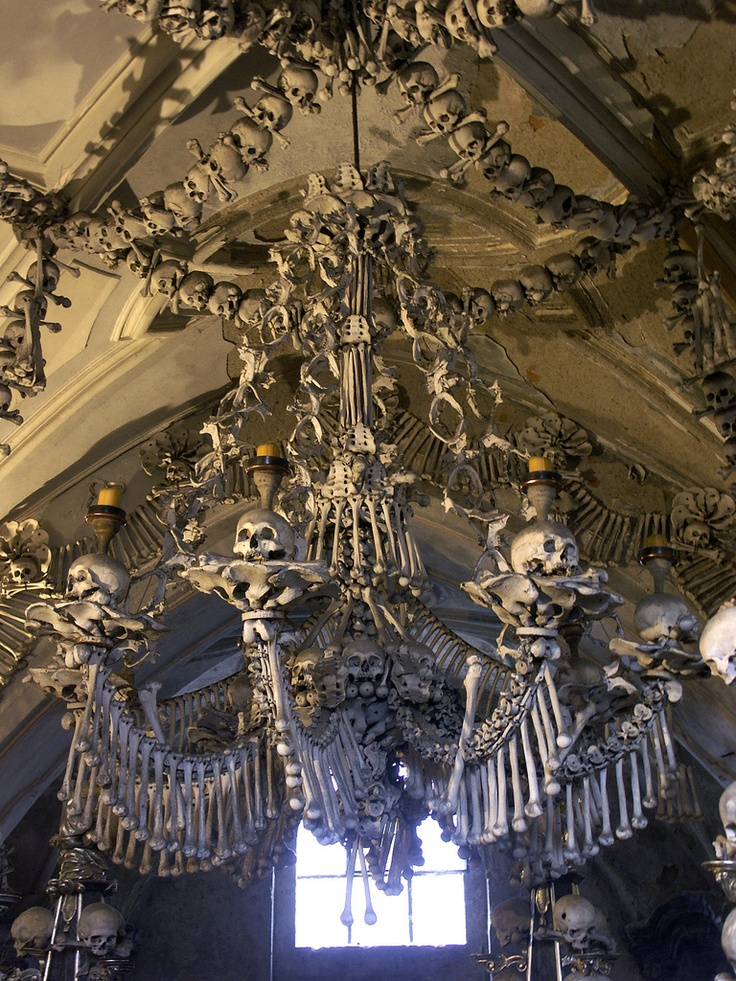 the sedlec ossuary Discover sedlec ossuary bone church in kutna hora, czechia: a church of bones, decorated with 40,000 human skeletons.