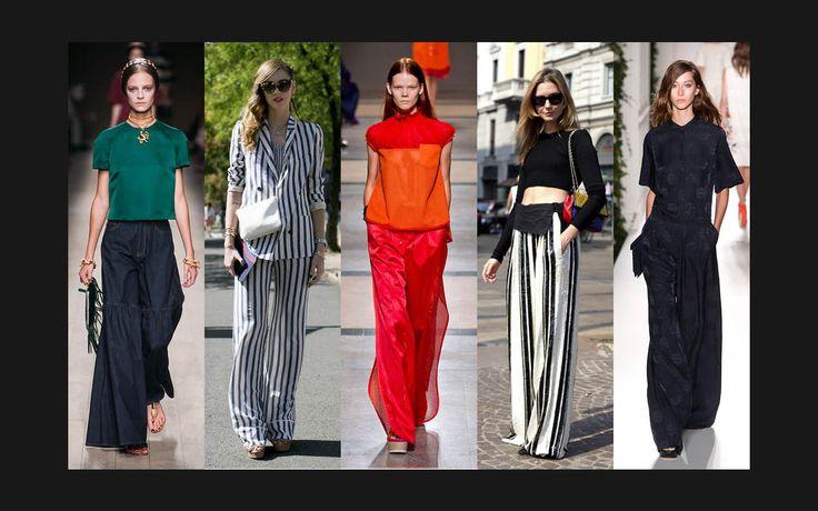 Modetrend 2014 - Palazzo-Hosen