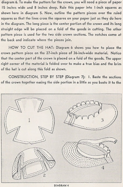 Hats 1935 to make part 5