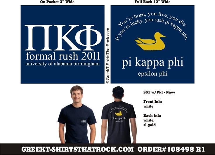 Pi Kappa Phi Formal Rush