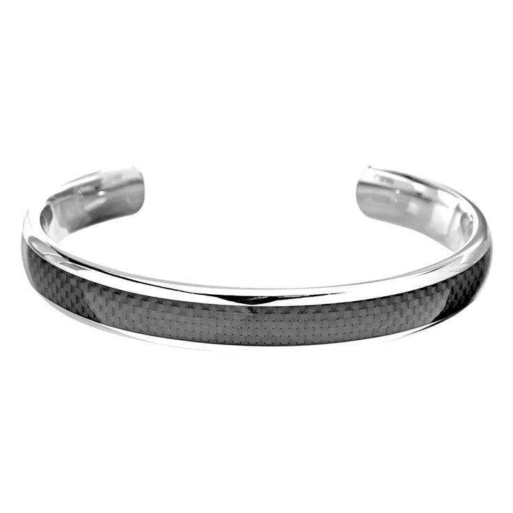 Fine Jewelry Mens Stainless Steel Cuff Bracelet CaTfJ3m9s