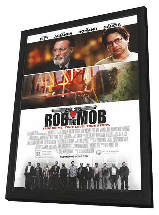 Rob the Mob 11x17 Framed Movie Poster (2014)
