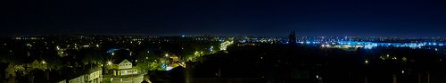 Walsall Night Panorama
