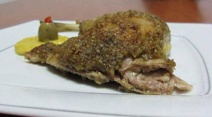 Κοτόπουλο Al Pesto - Οι συνταγές της Άννας
