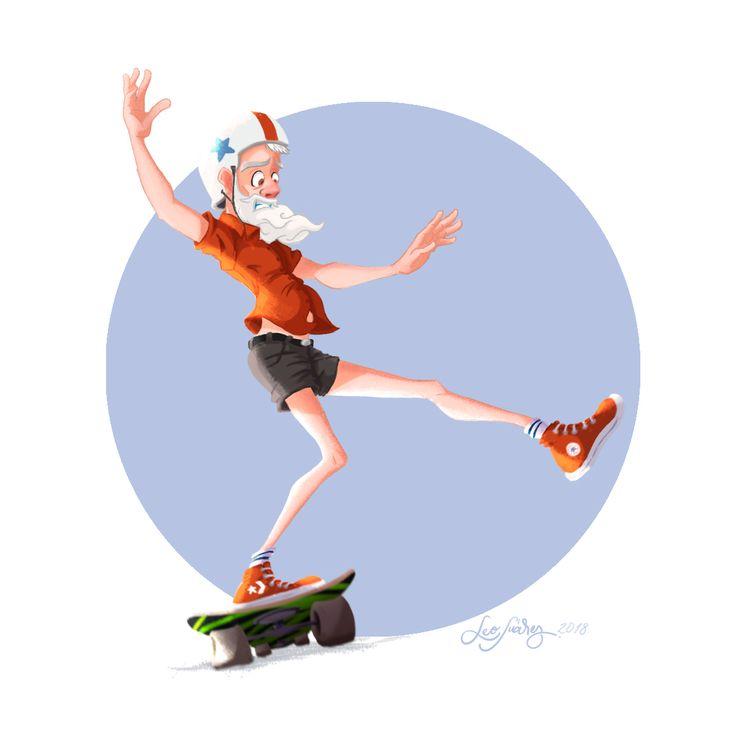 #DigitalIllustration #Wacom #CharacterDesign #Skater