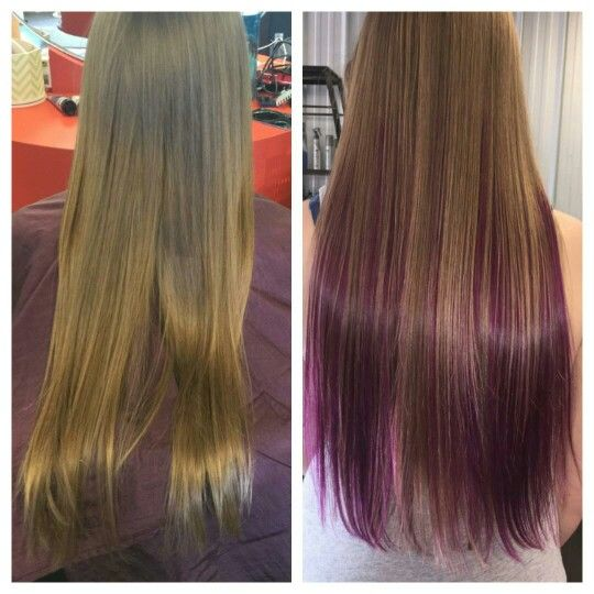 Before and after by Courtenay