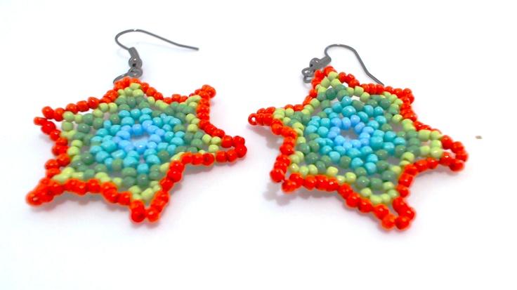 Cercei Huichol Art 3 - La comanda (20 LEI la bijouxdemonange.breslo.ro)