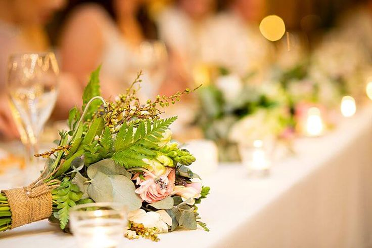 Eagle Farm Racecourse - Bouquet Flowers  | Captured by Milque | G&M Event Group #WeddingDJ #BrisbaneWedding #BrisbaneRacingClub #FunWedding #bridaltable #flowers #wedding #reception