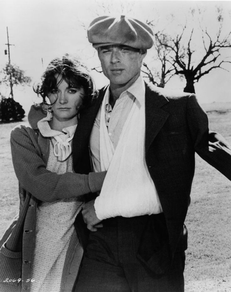 "Margot Kidder y Robert Redford en ""El Carnaval de las Águilas"" (The Great Waldo Pepper), 1975"