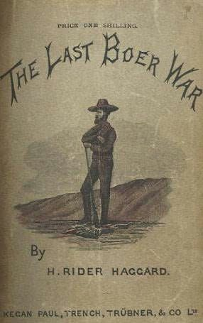 book cover of The Last Boer War