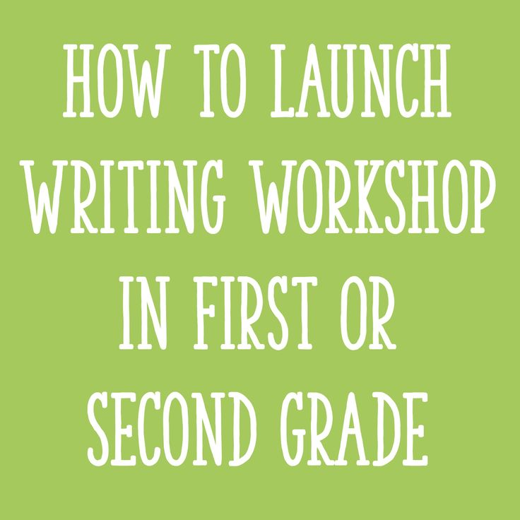 In today's post, I'll explain how to launch writing workshop in 1st or 2nd grade - by setting expectations and acknowledging students' past experiences!