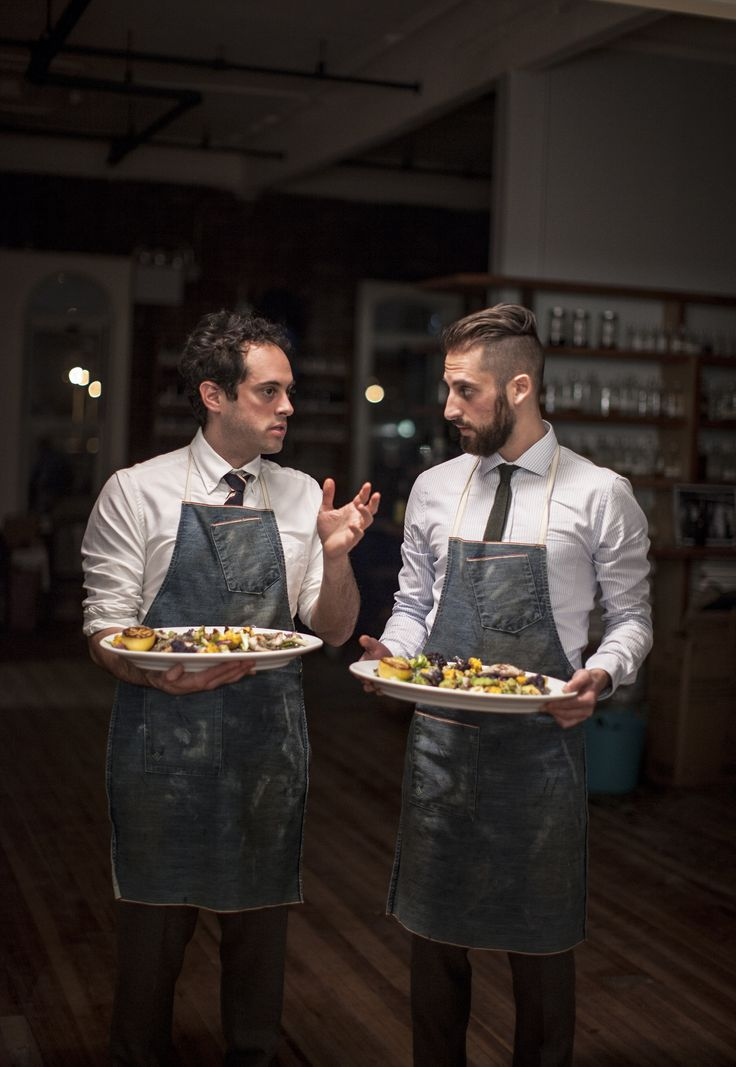 like their aprons! | novh: The Sussman brothers