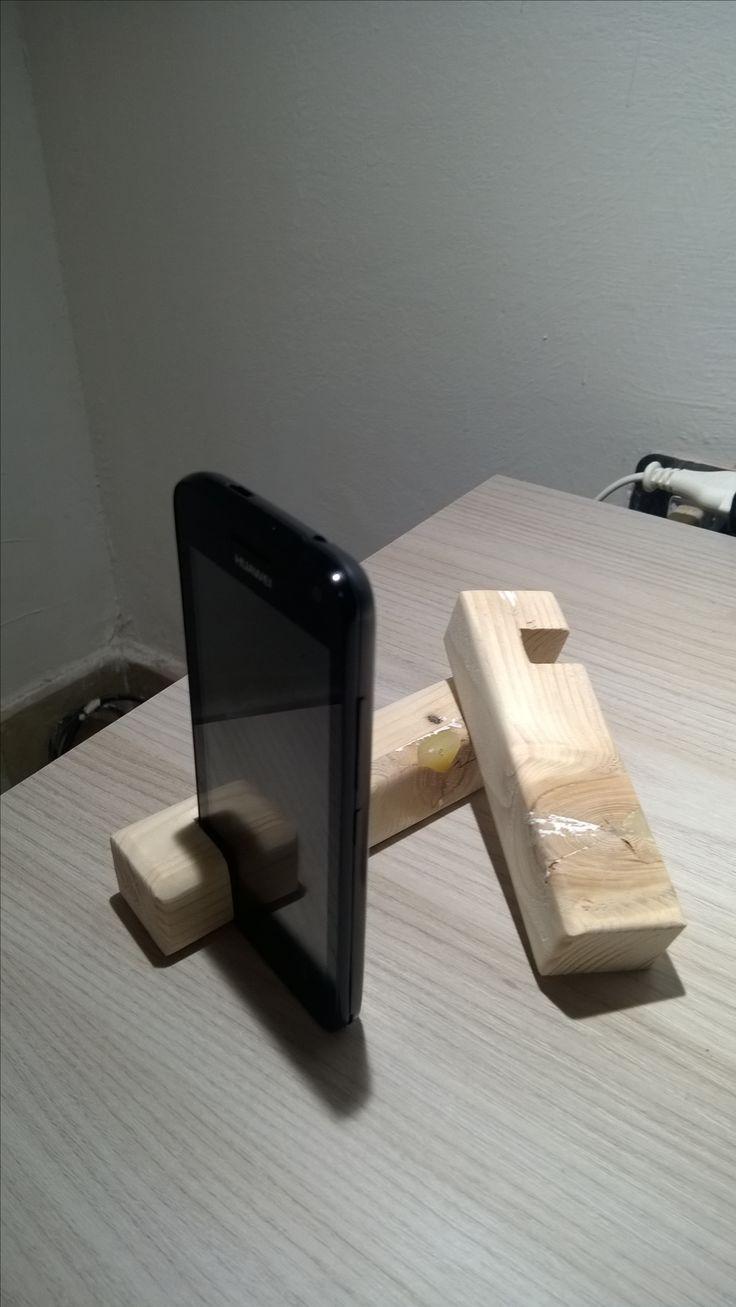 Wooden Standphone