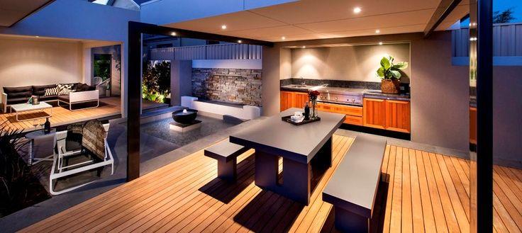 sentosa outdoor entertaining   APG Homes