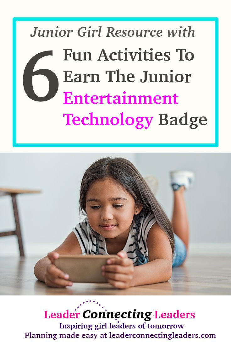 6 Fun Activities To Earn The Junior Entertainment…