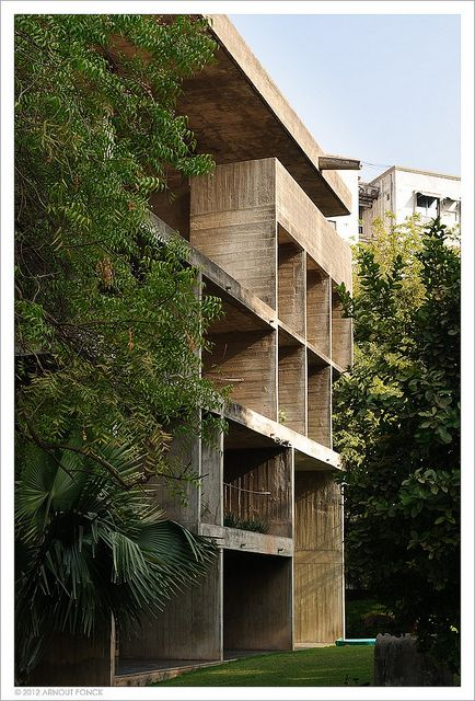 Le Corbusier | Shodhan House, 1956, Ahmedabad, India